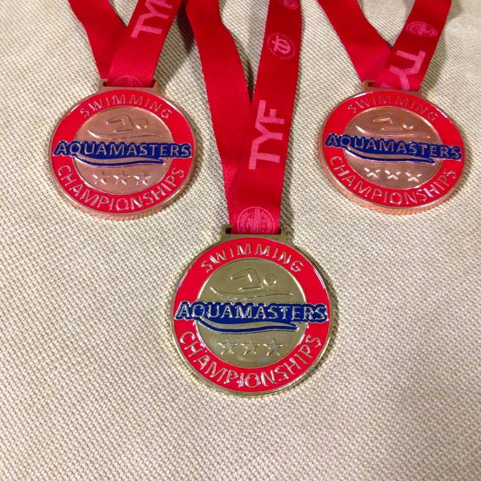 Auqamasters Yüzme Takımımız 9 Altın 2 Gümüş 5 Bronz Kazandı