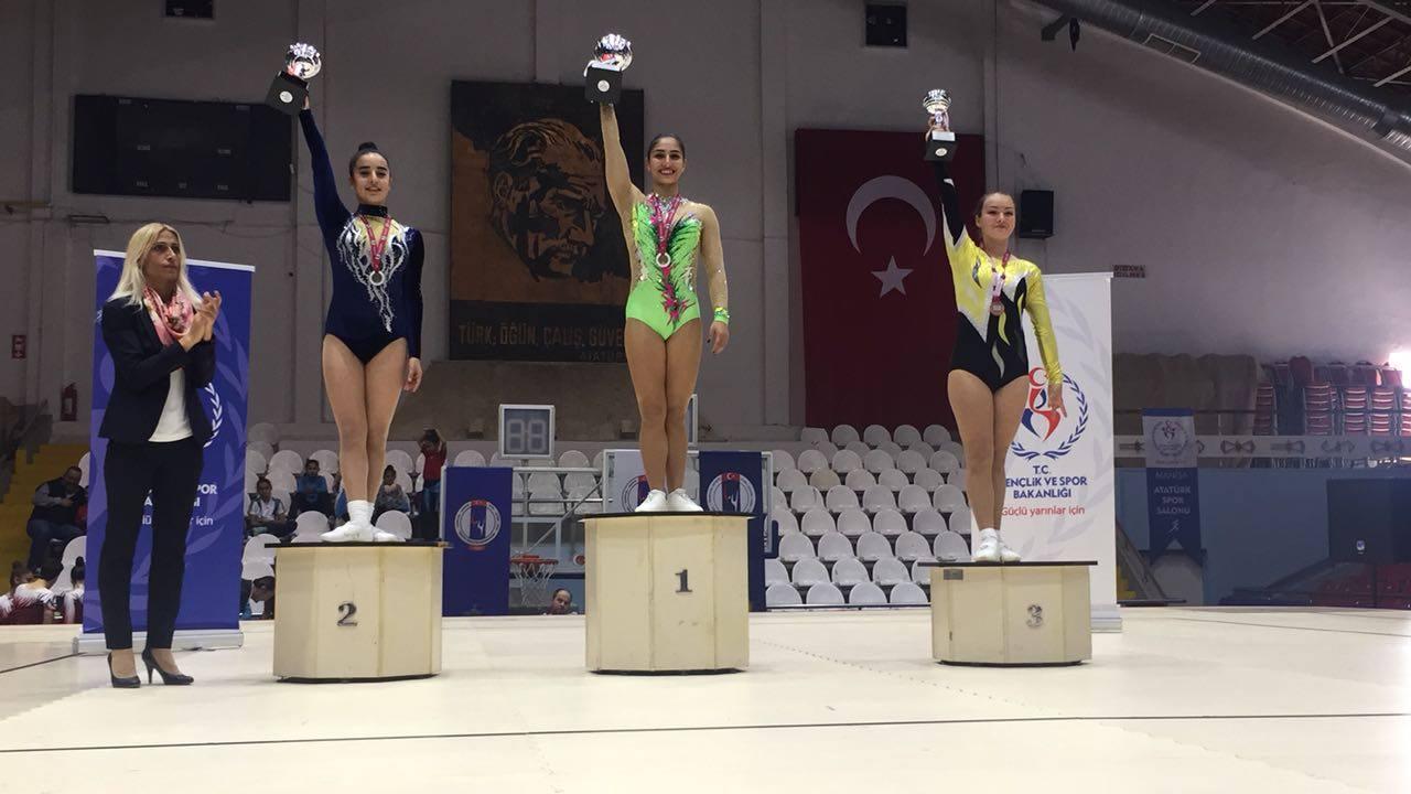 Cimnastikte Zirve Yine Hacettepe'de!
