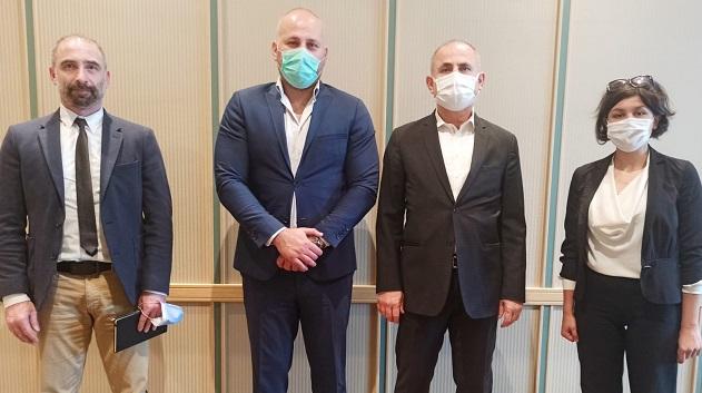 """Ali GENÇ ile """"Barış Parkuru"""" hakkında istişare toplantısı"""