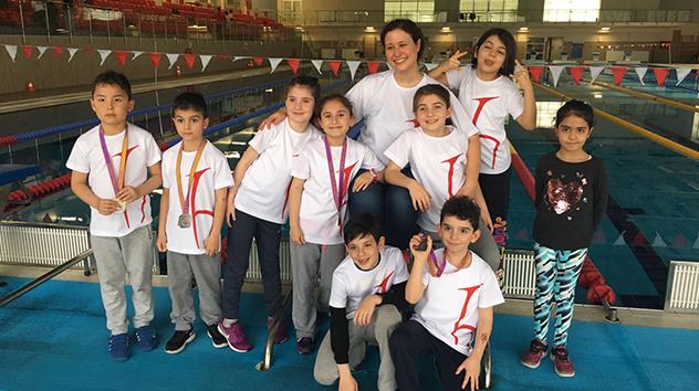 Hacettepe'nin Minikleri Ankara Şampiyonasında 2. Oldu!