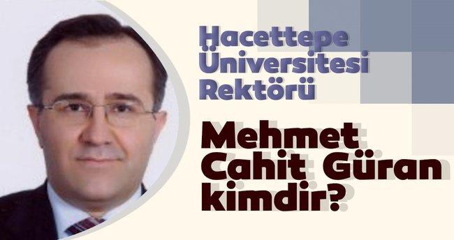 Prof. Dr. Mehmet Cahit Güran hocamıza yeni görevinde başarılar dileriz.