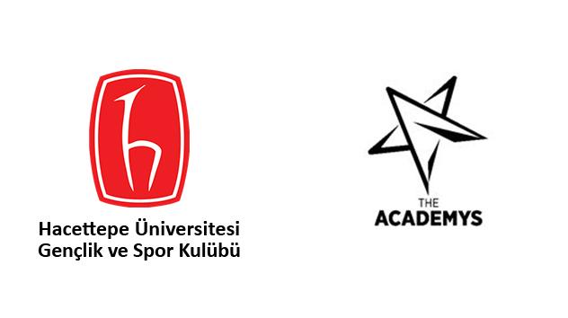The Academys ve Hacettepe Üniversitesi Gençlik ve Spor Kulübü E Spor İçin Bir araya Geliyor!