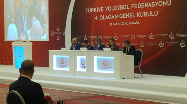 Türkiye Voleybol Federasyonu 4. Olağan Genel Kurulu Gerçekleştirildi!
