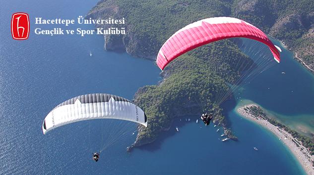 Hacettepe Üniversitesi Gençlik ve Spor Kulübü Yamaç Paraşütünde İddialı