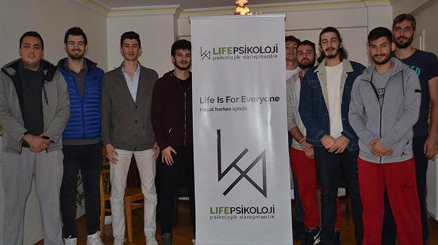 Sponsorlarımızdan Life Psikoloji ile iş birliği