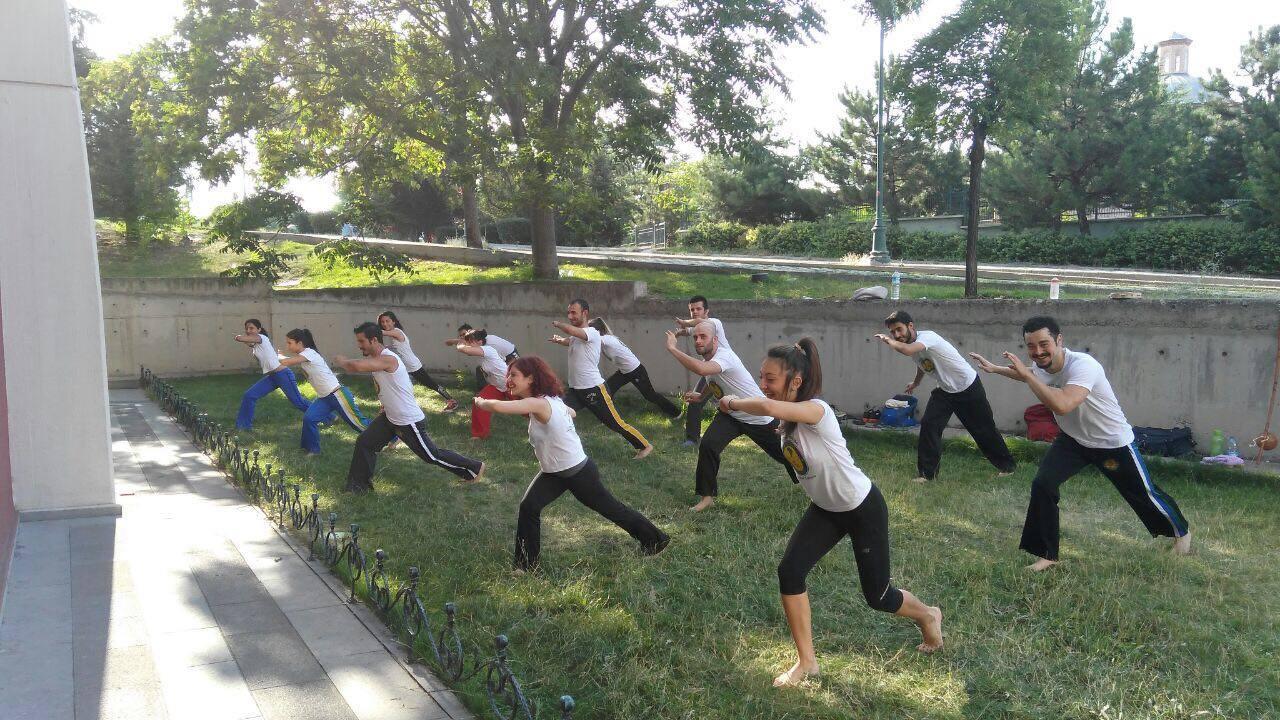 Capoeira Yaz Antrenmanları Devam Ediyor
