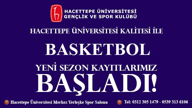 Basketbol Spor Okulu Kayıtlarımız Başladı!